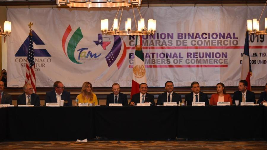 Realizan encuentro binacional entre Cámaras de Comercio de EUA y México