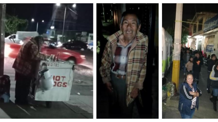 Abuelito no lograba vender sus hotdogs, y las redes sociales lo ayudaron