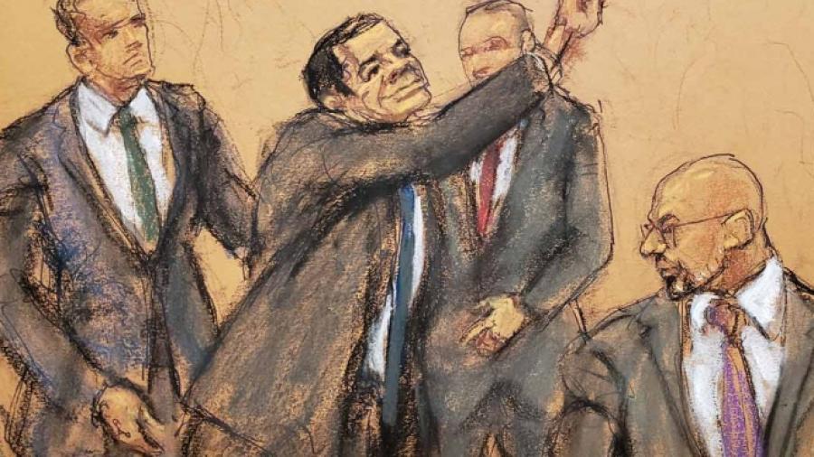 """Jurado rompe reglas en juicio de """"El Chapo"""", en riesgo veredicto"""