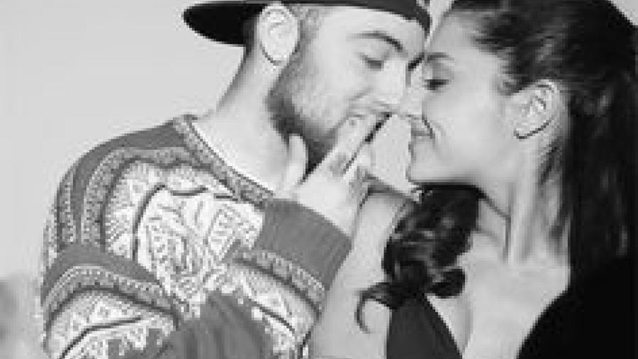 ¿Ariana Grande está comprometida con Mac Miller?
