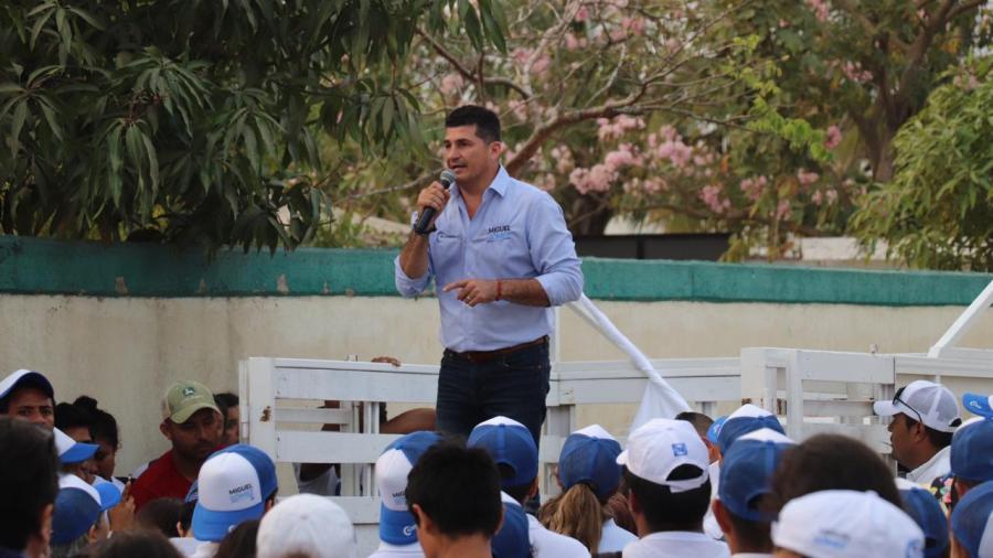 Seré un fiel servidor de mi distrito: Miguel Gómez Orta
