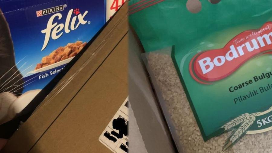 Reciben bolsas de arroz y comida para gato en vez de la PS5