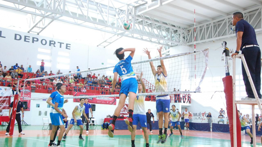 Voleibol de Sala, Sub 16 se cuelga medalla de Oro