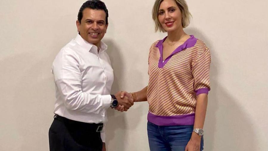 Se reúnen Pilar Gómez y Lalo Gattas para dar inicio a una transición ordenada