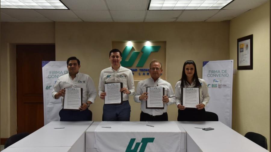 ITEA – UT Nuevo Laredo firman convenio de colaboración