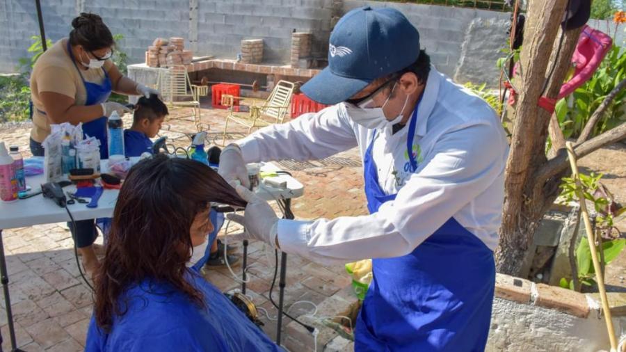 """""""DIF Reynosa en tu Casa"""" visitó a las familias de la colonia Industrial"""
