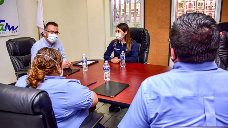 DIF Reynosa firmó convenio con empresa Transpaís para apoyar a pacientes con descuentos
