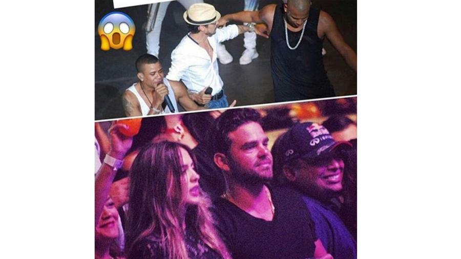Shannon de Lima fue a concierto de Marc Anthony con un ex