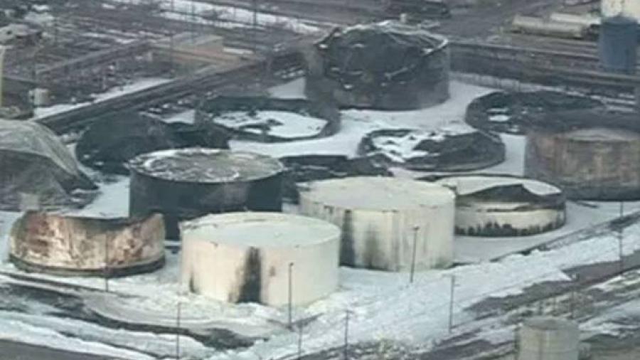 Extinguen incendio en planta química de Texas