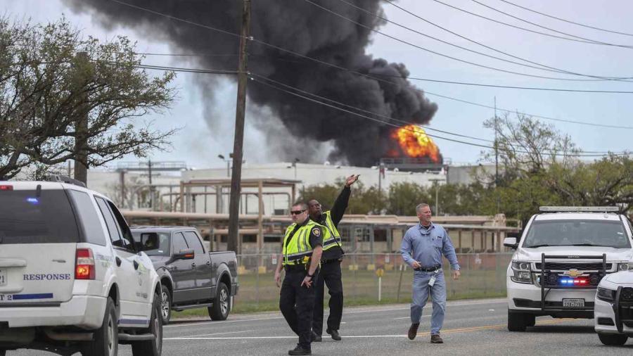 Incendio en planta petroquímica de Texas
