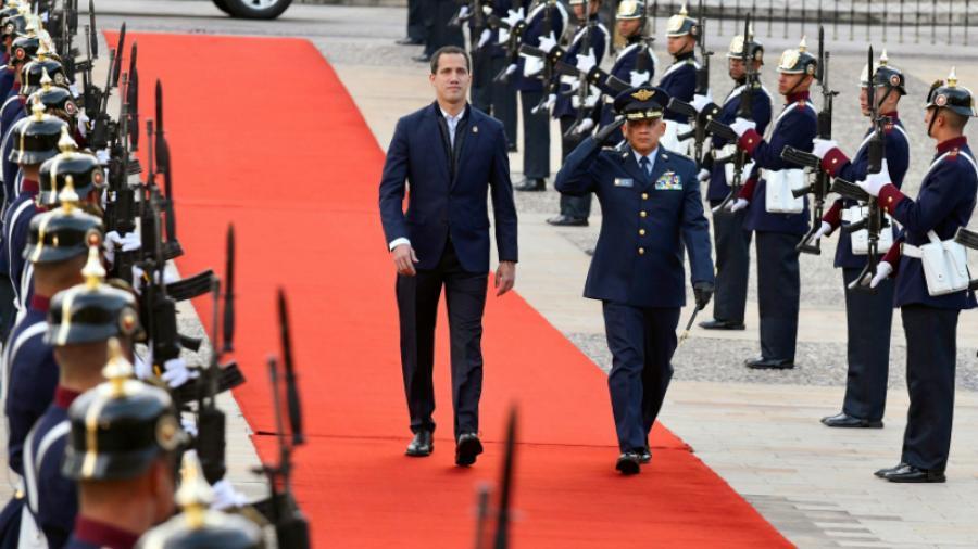 Guaidó llega a Colombia para reunirse con Mike Pompeo