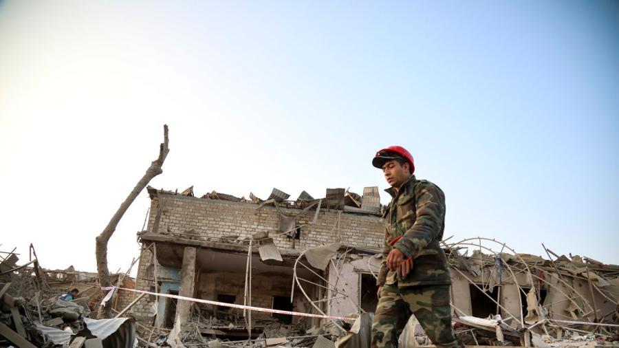 Armenia acusada por Azerbaiyán de mandar un misil que mató a cuatro civiles
