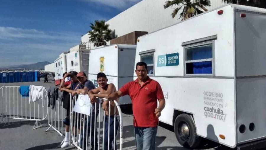 Continúa apoyo a Caravana Migrante en Coahuila