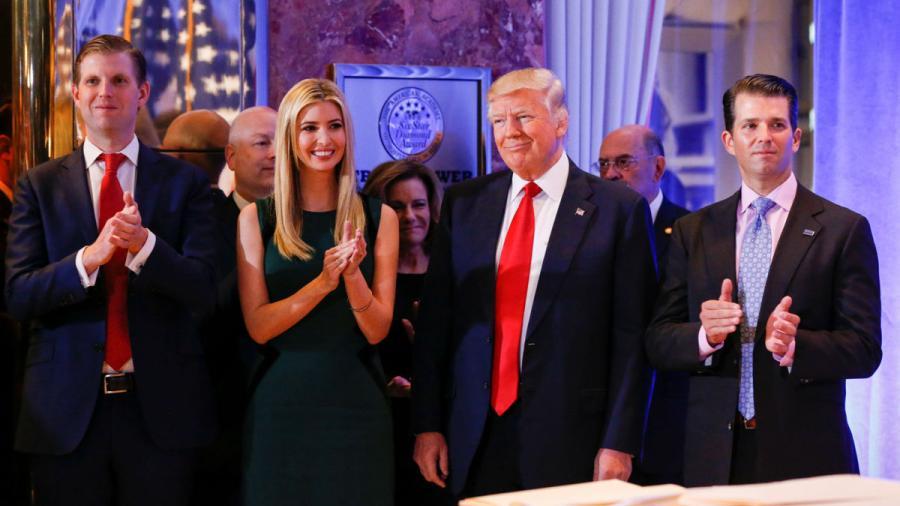 Trump intenta elogiar a su hija Ivanka y se equivoca en Twitter