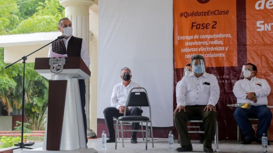 Autoridades maderenses en sinergia por la educación