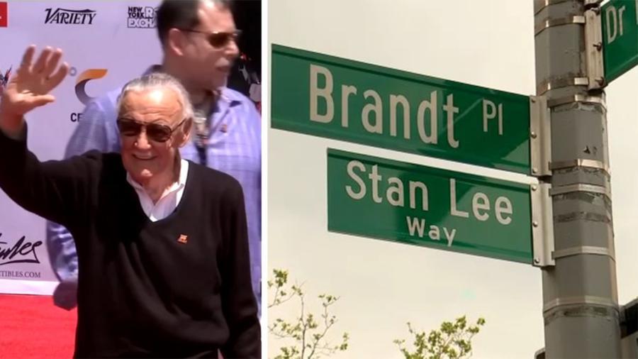 Renombran calle de Nueva York en homenaje a Stan Lee
