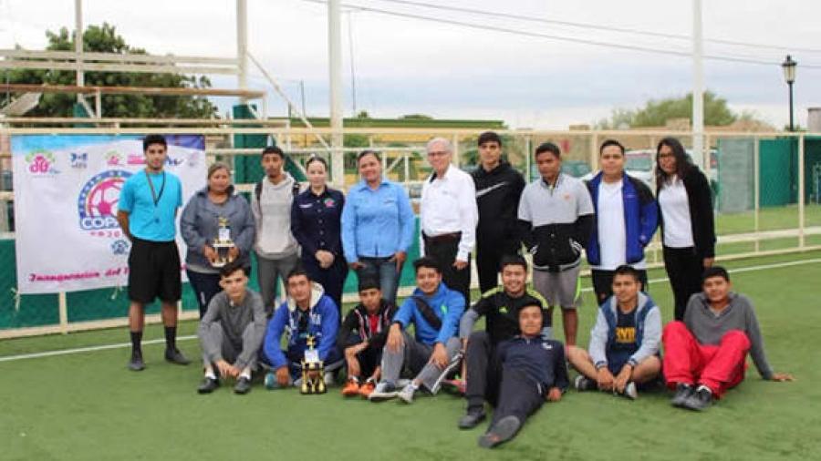 Realizan en Ciudad Mier torneo de fútbol Copa DIF 2017