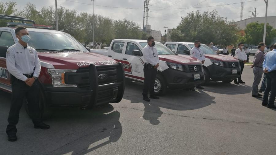 Tránsito y Vialidad de Matamoros recibe 3 nuevas patrullas