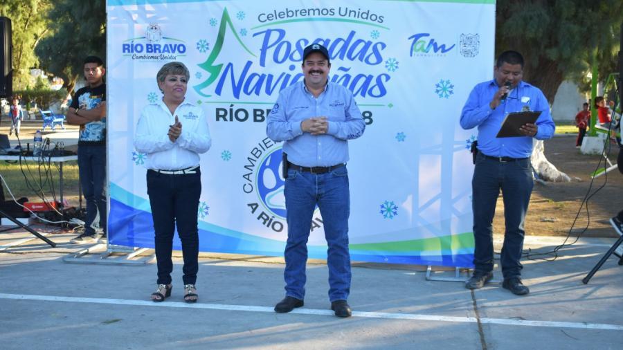 Se llevan a cabo Posadas Navideñas 2018 en Río Bravo