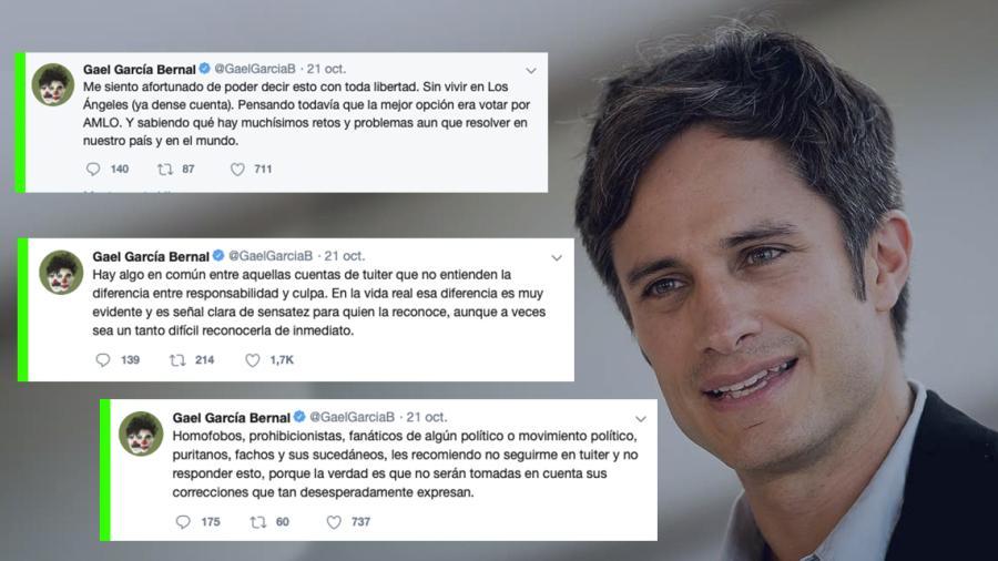 Afirma Gael García que votar por AMLO era la mejor opción