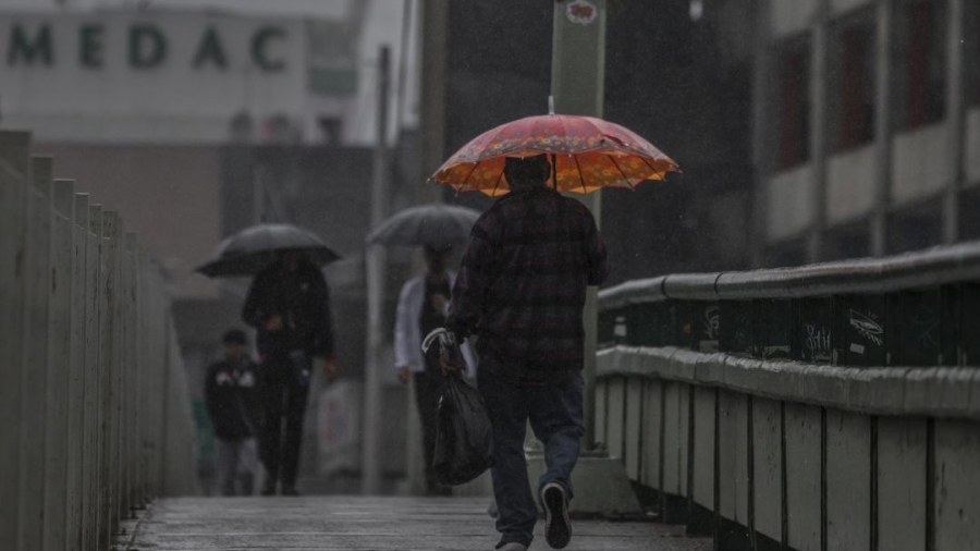 Se prevé  lluvias en varios estados del país