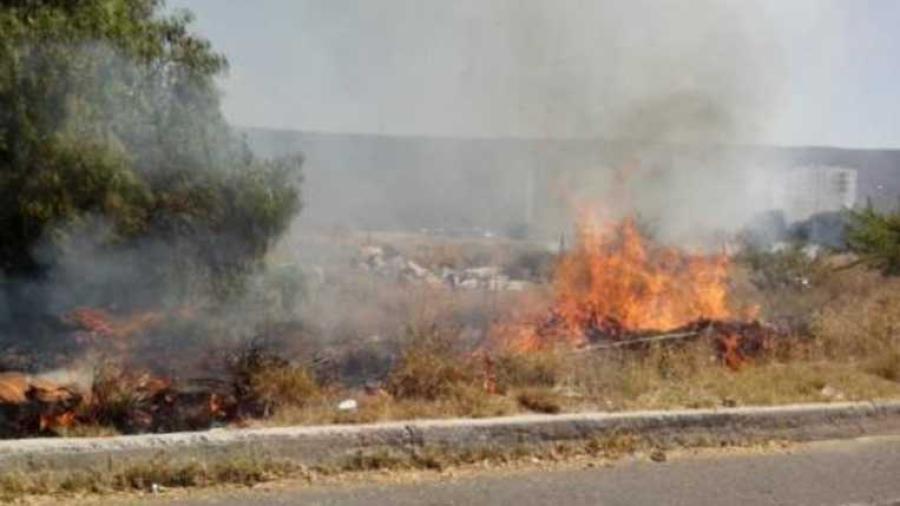 Atiende PC más de 90 incendios de zacatales en Nuevo Laredo