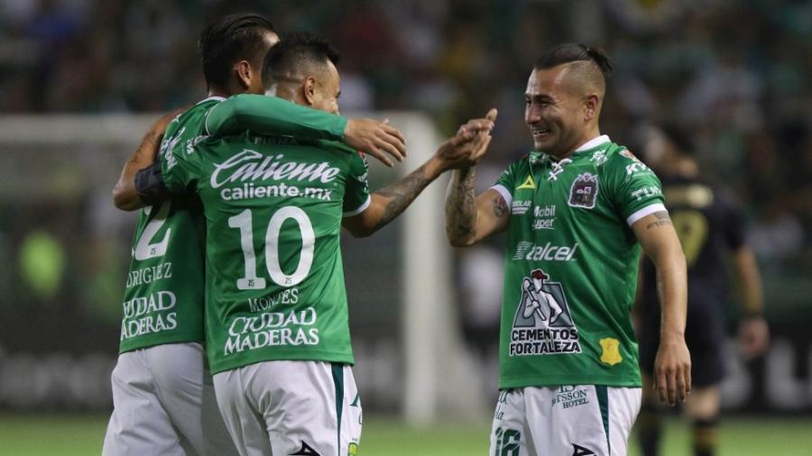 León se impone 2-0 ante LAFC en la ida de los octavos de la Liga de campeones de Concacaf