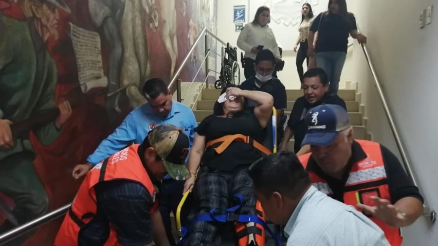 Participa Protección Civil de Reynosa en Simulacro Nacional 2020
