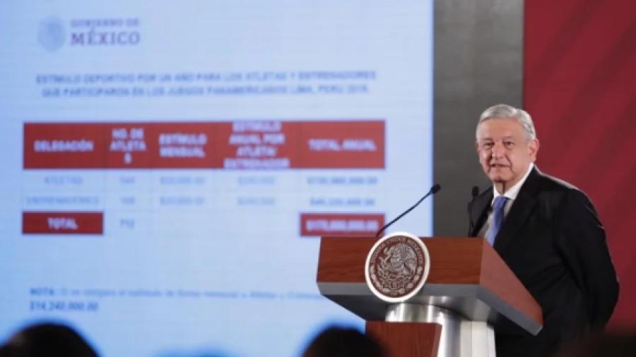 Panamericanos, GN, SAT, esto y más en conferencia de AMLO