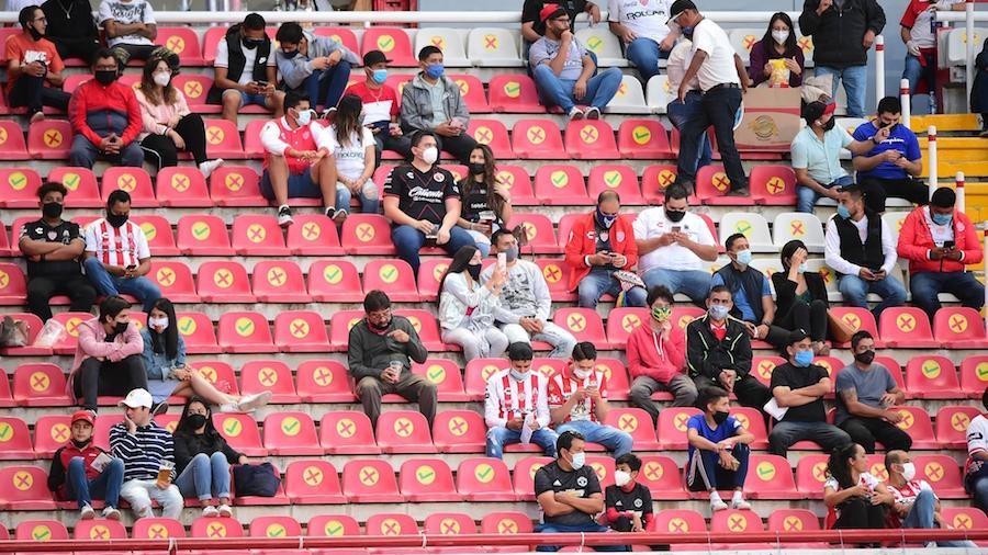 Necaxa cierra sus puertas a aficionados por repunte de casos en Aguascalientes