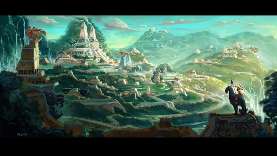 """Llegan las primeras imágenes de """"Maya y los Tres"""", la nueva cinta animada de Netflix"""