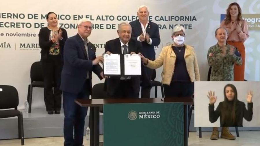 AMLO firma extensión de Zona Libre en la frontera norte hasta 2024