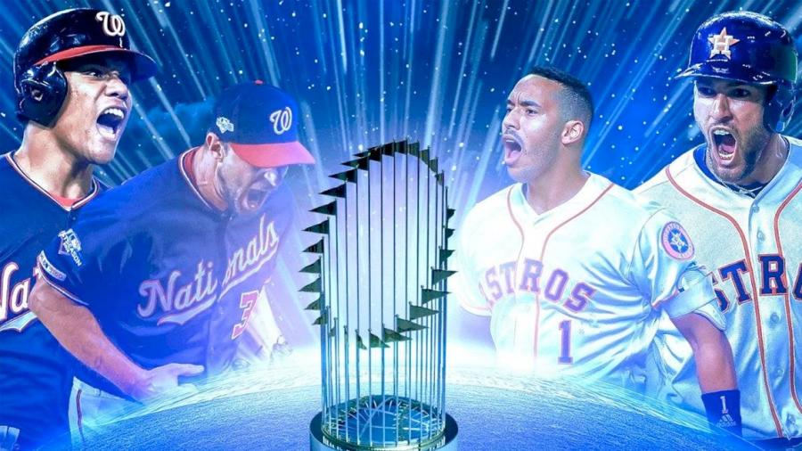 Así las apuestas para la Serie Mundial 2019 entre Astros y Nationals