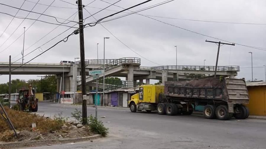 Servicios Primarios realiza labores en Fraccionamiento Río Bravo