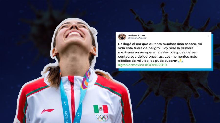 Mariana Arceo vence al COVID-19; es la primera mexicana en lograrlo