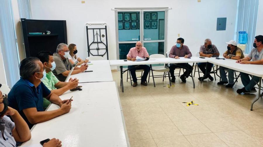Instala JAD Comité de Contingencias Ante la Amenaza de un Ciclón en Aguas del Golfo