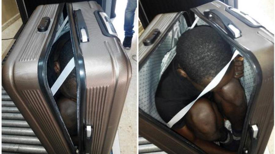 Detienen en España a marroquí con inmigrante en maleta