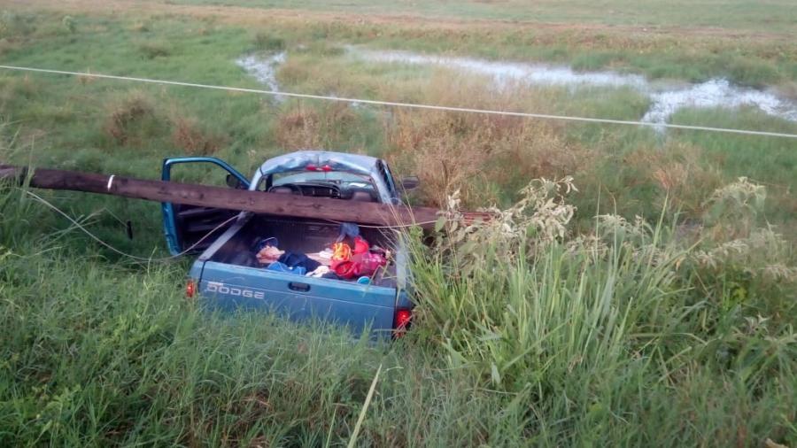 Accidente vehicular, arroja 12 lesionados en el puerto de Altamira