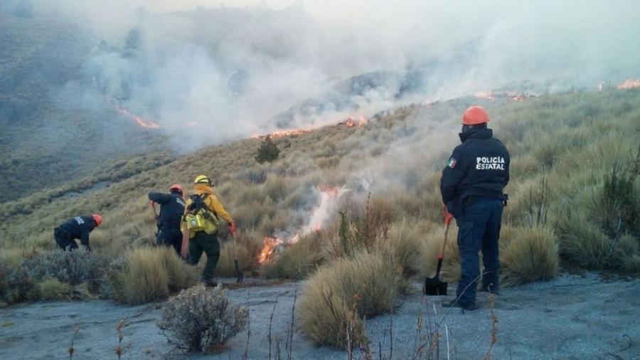 Bajo control el incendio en La Malinche,  Tlaxcala