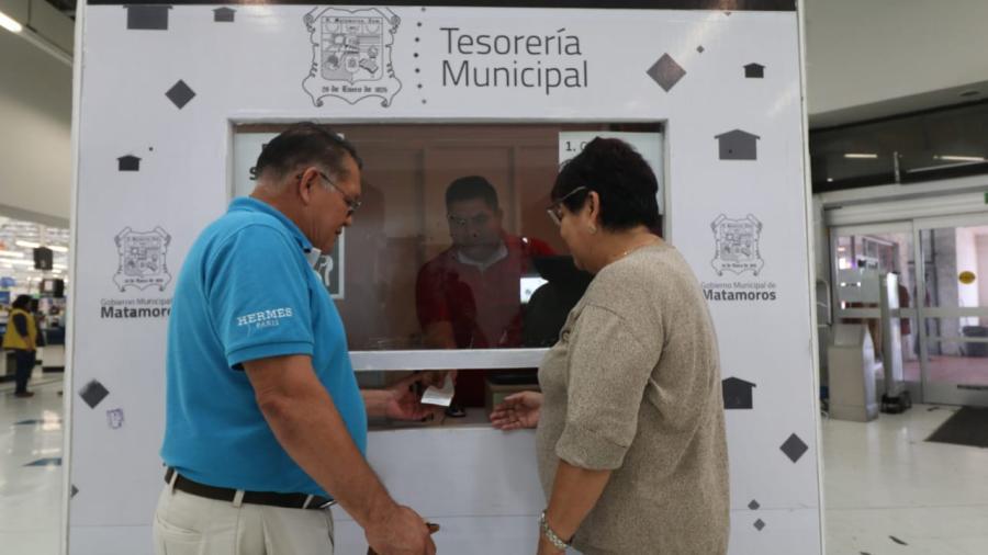 Facilita Gobierno de Matamoros pago del predial con apertura de módulos: Alcalde Mario López