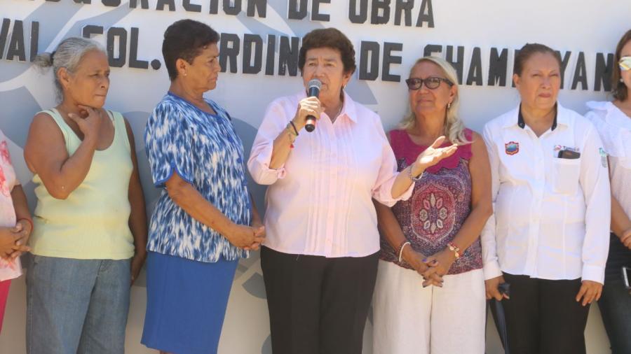 Entrega gobierno de Tampico importante paquete de pavimentación de calles