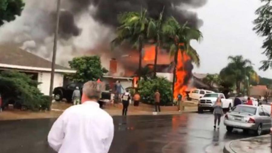 5 muertos tras desplome de avioneta