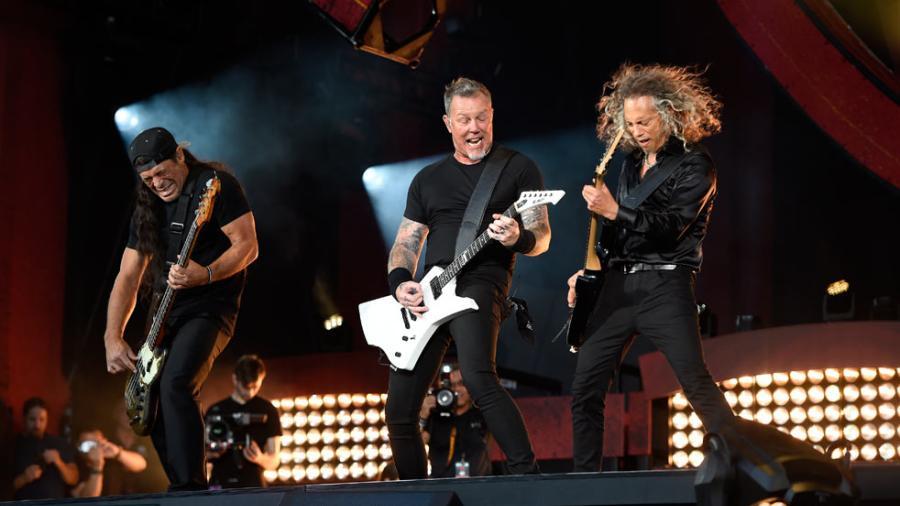 Metallica es la banda más taquillera de todos los tiempos
