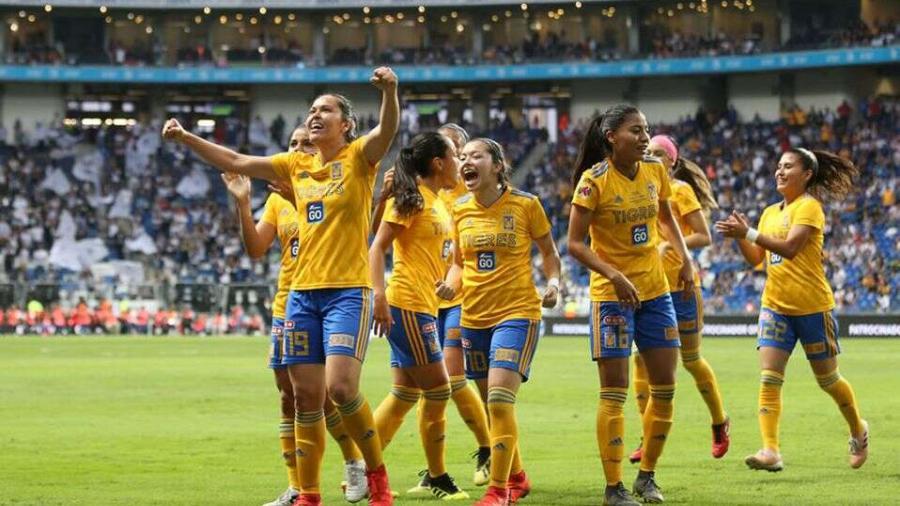 Tigres Femenil se corona campeón en el 'Gigante de acero'