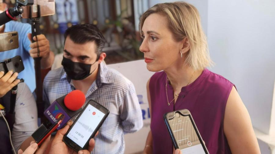 """""""Esto no se acaba... tengo que venir a cumplir con el trabajo"""" afirmó Pilar Gómez al reincorporarse a la alcaldía"""