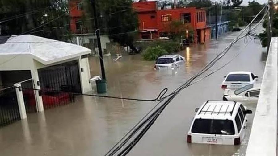 Continúan inundaciones en el Condado Cameron