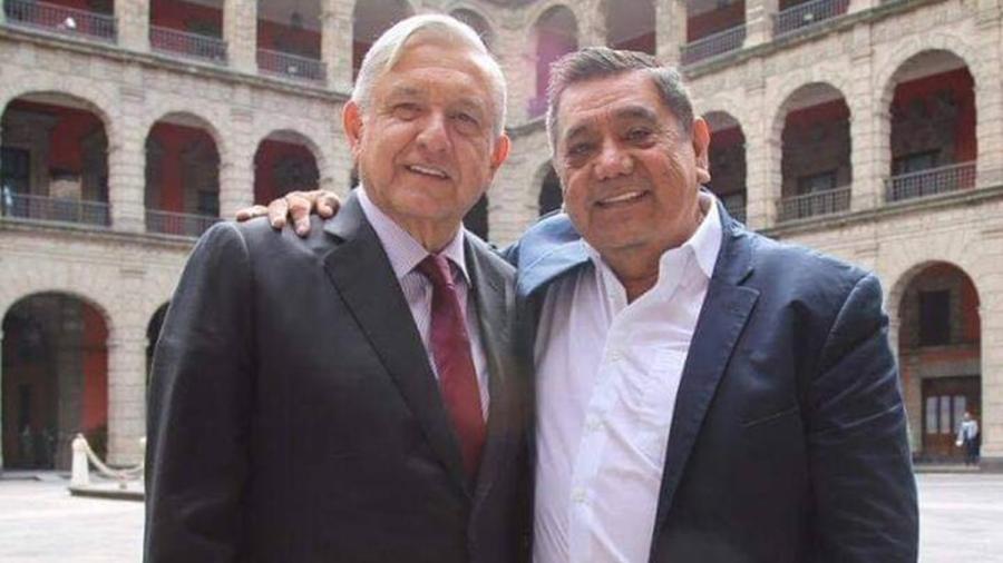 """""""No confió en el INE"""", defiende AMLO lucha de Salgado Macedonio"""