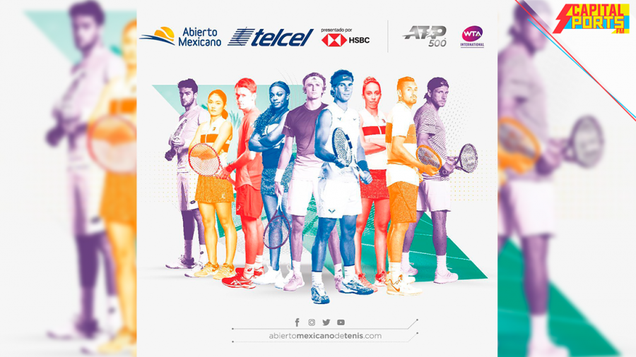 Rafael Nadal confirmado para el Abierto de Tenis de México Telcel 2020
