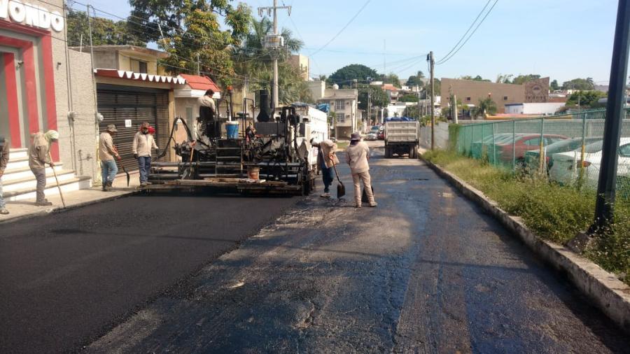 Transforma gobierno a la ciudad con 190 obras de pavimentación