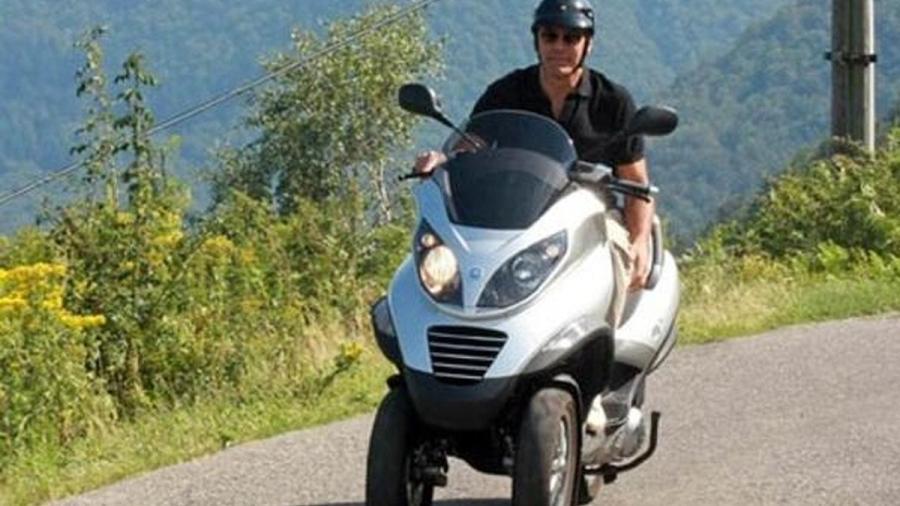 George Clooney sufre un accidente en Italia